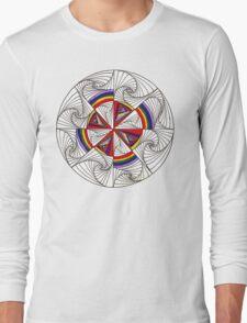 Psychedelic Rainbow Long Sleeve T-Shirt