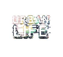Urban Life Photographic Print