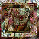 Abalone Abstract by Dana Roper