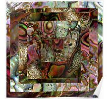 Abalone Abstract Poster