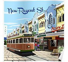New Regent Street, Christchurch Poster