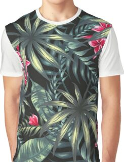 Tropical Leave pattern 4 Graphic T-Shirt
