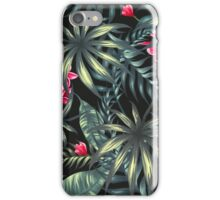 Tropical Leave pattern 4 iPhone Case/Skin