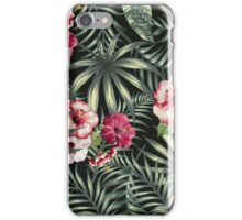 Tropical Leave pattern 5 iPhone Case/Skin