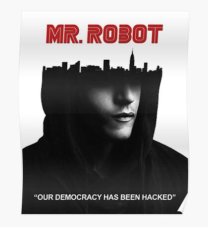 mr robot Poster