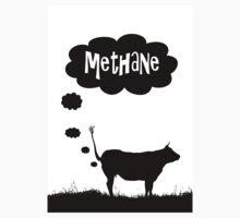 Global warming - cow methane by funkyworm