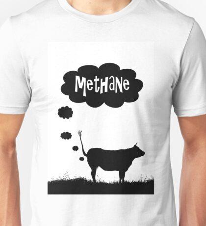 Global warming - cow methane Unisex T-Shirt