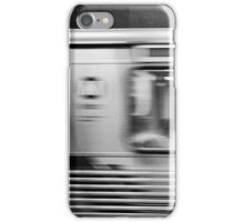 Passing Los Angeles Metro Train iPhone Case/Skin