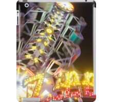 colourful screams iPad Case/Skin