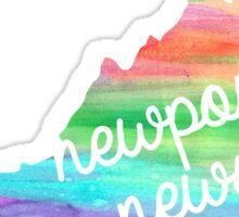 Newport News Sticker