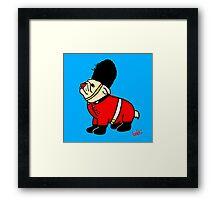 A very british bulldog Framed Print