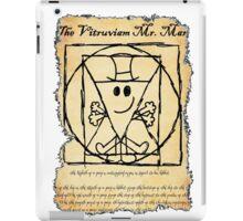 THE VITRUVIAN MR. MAN iPad Case/Skin