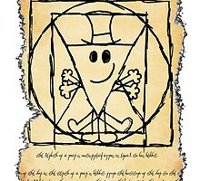THE VITRUVIAN MR. MAN by tnewton69