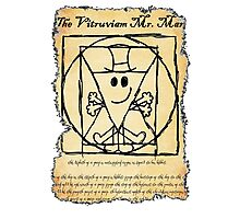 THE VITRUVIAN MR. MAN Photographic Print