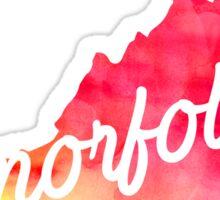 Norfolk Sticker