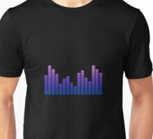 Audio Spectrum Bars #2 Unisex T-Shirt