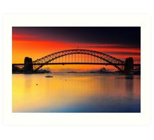 Vivid Sunrise Art Print