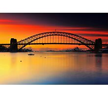 Vivid Sunrise Photographic Print