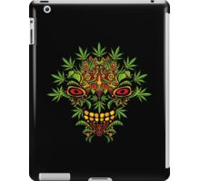 Psychedelic cannabis jungle demon iPad Case/Skin