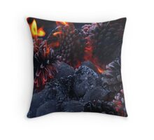 Pine Cone Inferno Throw Pillow