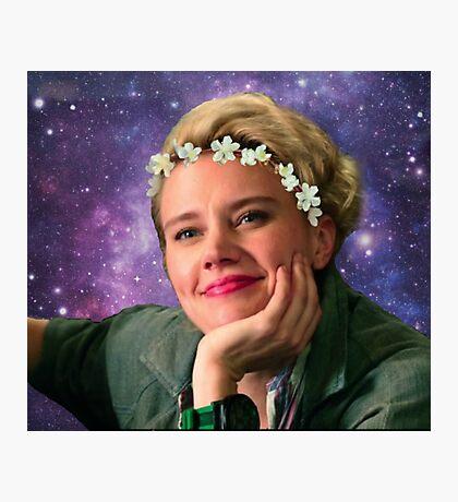 Jillian Holtzmann Ghostbusters Galaxy  Photographic Print