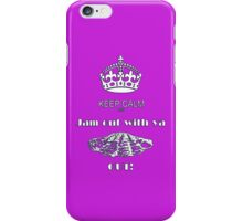 KEEP CALM AND JAM OUT WITH YA CLAM OUT iPhone Case/Skin