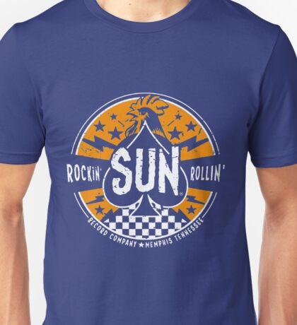 Sun Records : Rockin SUN Rollin'  Unisex T-Shirt