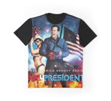Ash for President Graphic T-Shirt