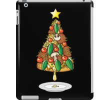 Funny Pizza Lover Christmas Tree Food Costumes T-Shirt iPad Case/Skin