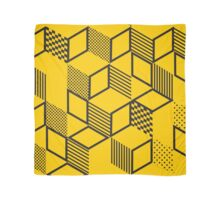 Cubes | Yellow Scarf