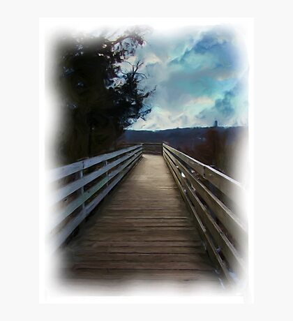 Top of Starved Rock Photographic Print
