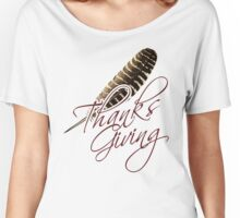 Thanksgiving Women's Relaxed Fit T-Shirt