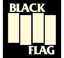 BLACK FLAG Photographic Print