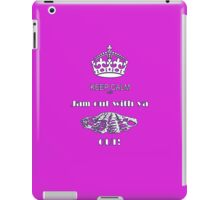 KEEP CALM AND JAM OUT WITH YA CLAM OUT iPad Case/Skin