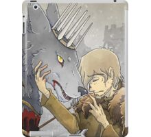 The Young Wolf and the Turncloak iPad Case/Skin
