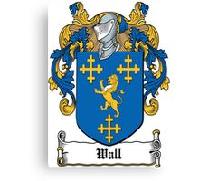 Wall Coat of Arms (Carlow, Ireland) Canvas Print