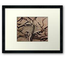 Anguished Framed Print