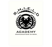 S.H.I.E.L.D Academy > Communications Division Art Print