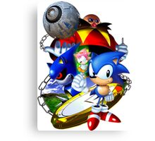 Sonic CD - Sonic the Hedgehog Canvas Print