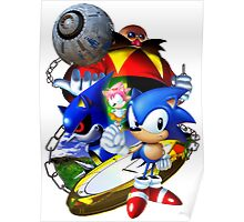 Sonic CD - Sonic the Hedgehog Poster
