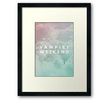 Vampire Weekend III Framed Print