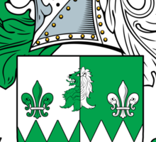 Weldon Coat of Arms (Irish) Sticker