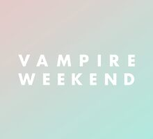 Vampire Weekend by noeyt