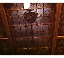 Broken Ceiling Photographic Print