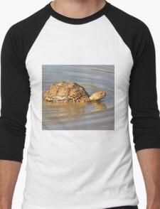 Tortoise Summer Swim - Natural Fun Men's Baseball ¾ T-Shirt