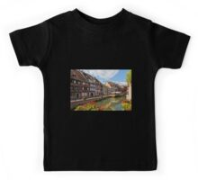 Colorful Buildings in the Fishmongers' District Kids Tee