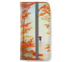 Autumn Walk iPhone Wallet/Case/Skin