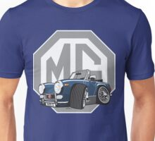 MG Midget SWA cartoon blue Unisex T-Shirt