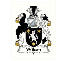 Wilson Coat of Arms I (Donegal 1636) Art Print