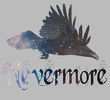 Quoth the Raven 'Nevermore' by goldenbirdkj